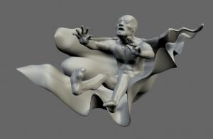 Disseny artistic en 3D: Exemple de disseny directe a 123D sculpt
